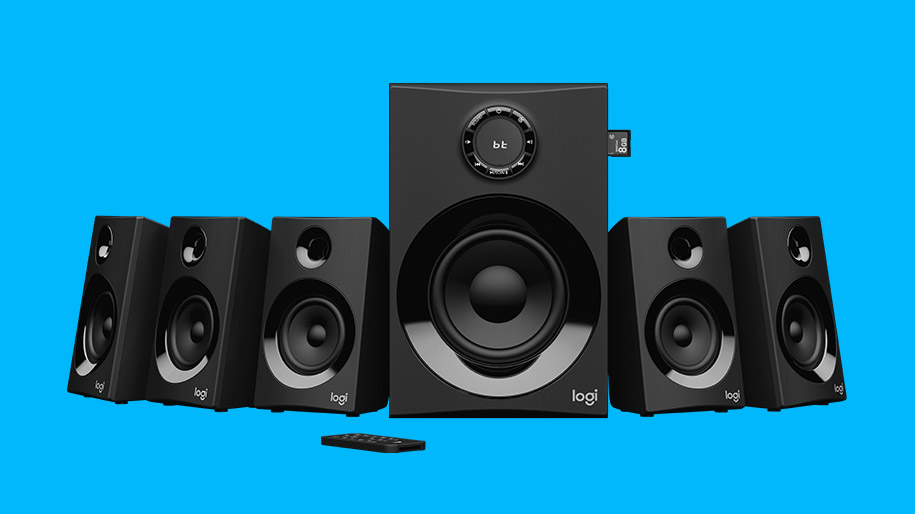 Logitech Z607 5.1 Surround Sound Speakers with Bluetooth