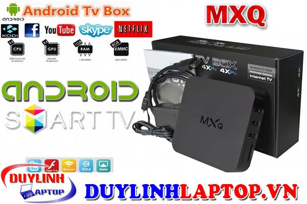 Android Tivi Box MXQ Amlogic S805 cấu hình khủng chất lượng hình ảnh
