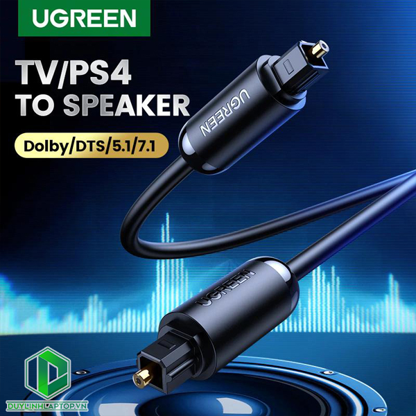 Dây Cáp Audio Quang Optical Toslink Ugreen 70890---70893 - 2