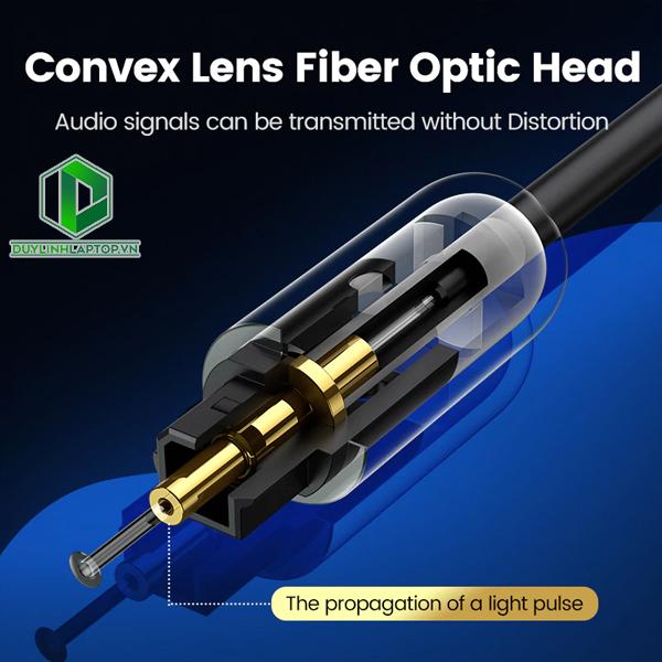 Dây Cáp Audio Quang Optical Toslink Ugreen 70890---70893 - 7