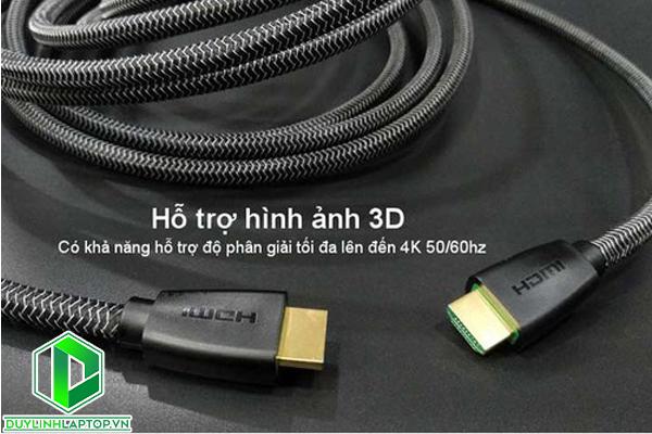 Dây cáp HDMI 2.0 dài 3 mét hỗ trợ 4K2K Ugreen 50464 - UGREEN 50464
