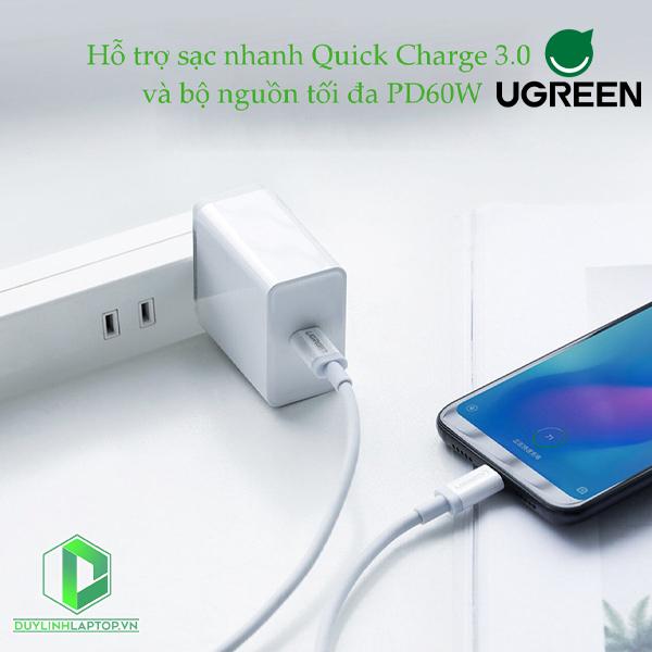 Dây Cáp USB Type C to USB Type C US264 Ugreen 60517---60520 - 10