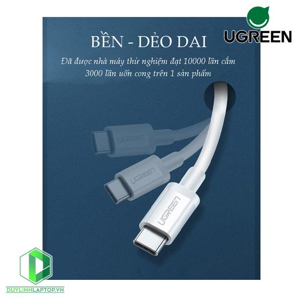 Dây Cáp USB Type C to USB Type C US264 Ugreen 60517---60520 - 3