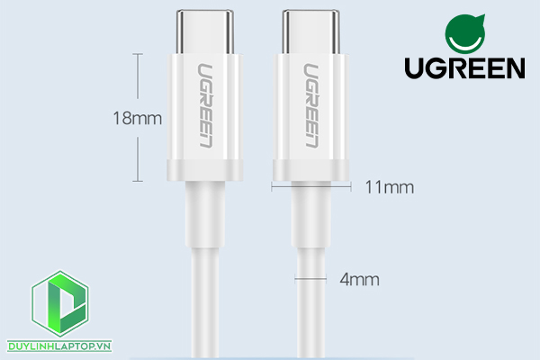 Dây Cáp USB Type C to USB Type C US264 Ugreen 60517---60520 - 8