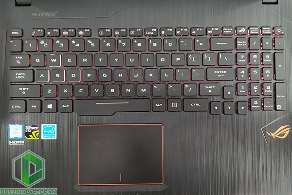 Laptop Asus Gl553VE - FY096 - 12