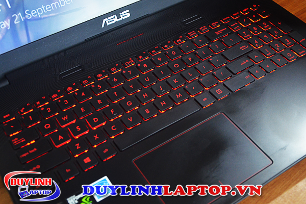 Laptop cũ Asus Gaming GL552JX (i7-4720Q/ RAM 8G/ Intel HD 4600/ Nvidia GTX 950M/ HDD 1TB/ Pin 5h)