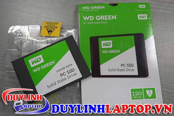 SSD WD Green 120GB gia re