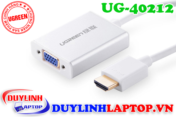 Cáp chuyển đổi HDMI to VGA Ugreen chất lượng tốt - 10