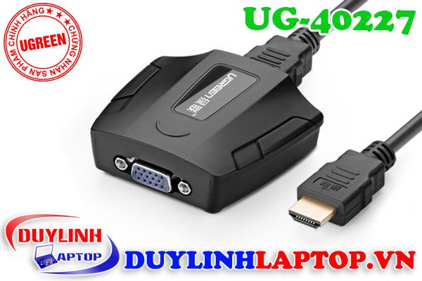 Cáp chuyển đổi HDMI to VGA Ugreen chất lượng tốt - 14