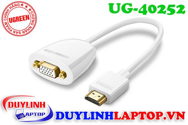 Cáp chuyển đổi HDMI to VGA Ugreen chất lượng tốt