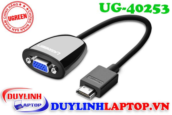 Cáp chuyển đổi HDMI to VGA Ugreen chất lượng tốt - 8