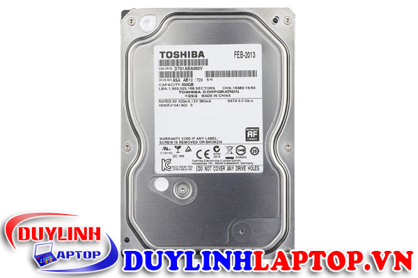 HDD Toshiba 500GB 7200rpm Sata 3 32Mb Cache