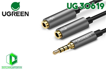 Cáp Audio 3.5 ra Mic & Headphone Ugreen 30619