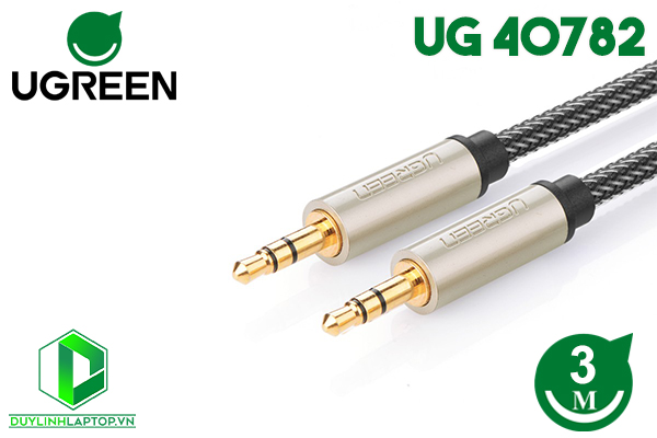 Cáp Audio 3.5mm Aux dài 3m Ugreen 40782
