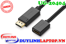 Cáp Displayport to HDMI âm Ugreen 20404