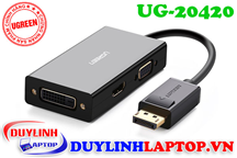 Cáp Displayport to HDMI, VGA, DVI 24+1 Ugreen 20420