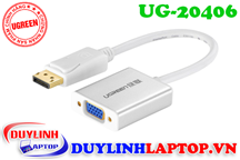 Cáp Displayport to VGA + Audio 3.5mm Ugreen 20406