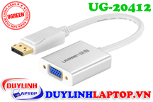 Cáp Displayport to VGA + Audio 3.5mm Ugreen 20412