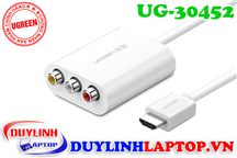 Cáp HDMI to AV (RCA) Ugreen 30452