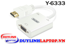 Cáp HDMI to VGA + Audio 3.5mm Unitek Y-6333