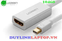 Cáp Mini DisplayPort/ThunderboltTM to HDMI (âm) UGREEN 10460 hỗ trợ 1080P cho Macbook Pro, iMac, Mac