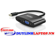 Cáp Mini Displayport to HDMI + VGA Unitek Y-6328BK