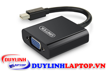 Cáp Mini Displayport to VGA Unitek Y-6327BK