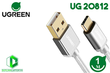 Cáp Sạc USB 2.0 To Type C 1M Ugreen 20812