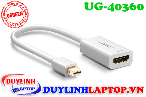 Cáp Thunderbolt - Mini Displayport to HDMI Ugreen 40360