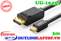 Cáp Thunderbolt - Mini Displayport to Displayport dài 3m Ugreen 10434