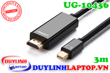 Cáp Thunderbolt - Mini Displayport to HDMI dài 3m Ugreen 10436
