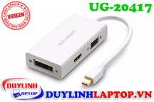Cáp Thunderbolt - Mini Displayport to HDMI + VGA + DVI 24+1 Ugreen 20417