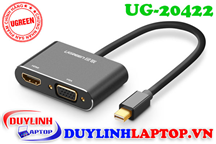 Cáp Thunderbolt - Mini Displayport to HDMI + VGA Ugreen 20422