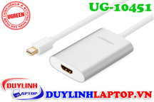 Cáp Thunderbolt - Mini Displayport to HDMI vỏ nhôm Ugreen 10451