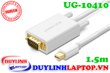 Cáp Thunderbolt - Mini Displayport to VGA dài 1.5m Ugreen 10410