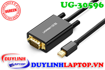 Cáp Thunderbolt - Mini Displayport to VGA dài 1.5m Ugreen 30596
