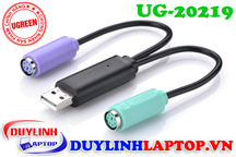 Cáp USB 2.0 to PS/2 Ugreen 20219