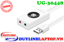 Cáp USB Sound UGREEN 30448