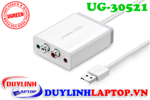 Cáp USB to AV 2 hoa sen (RCA) Ugreen 30521