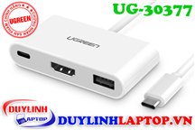 Cáp USB Type C to HDMI, USB Type C, USB 3.0 Ugreen 30377