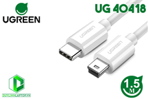 Cáp USB Type C to Mini USB dài 1,5m Ugreen 40418