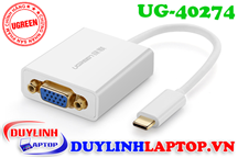 Cáp USB Type C to VGA Ugreen 40274
