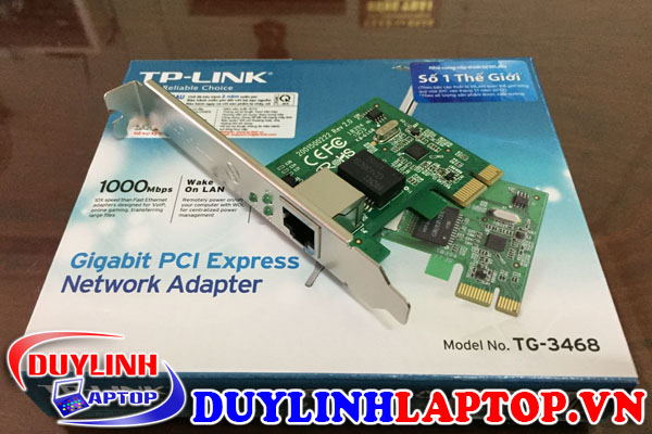 Card mạng TP Link TG-3468 (Gigabit) (PCI-Express)