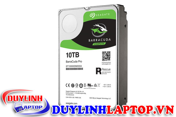HDD Seagate Barracuda Pro 10TB 7200rpm Sata3 256Mb