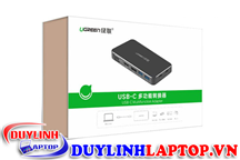 Hub USB Type C To HDMI, VGA, Displayport, Hub USB 3.0, USB-C Ugreen 40872