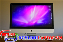 IMAC MB952 Late 2009 (CPU Core 2 Duo, Ram 8G, SSD 256G, card HD 4670, màn 27 inch)