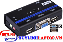 KVM Switch 2Port Auto USB+Audio+VGA MT-261KL