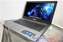 Laptop Asus X450C cũ (CPU Core i5 - 3337U, Ram 4G, HDD 500GB, pin 2.5h)