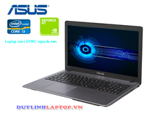 Laptop Asus X550C cũ (CPU i3-3217, Ram 4G, HDD 500G, card roi 1G, pin 2.5h)