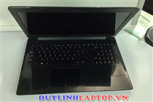 Laptop cũ Asus X553MA đen( Celeron N2840/RAM 4G/ HDD 500G/Intel HD graphics 4000/ Màn 15,6/Pin 3h)